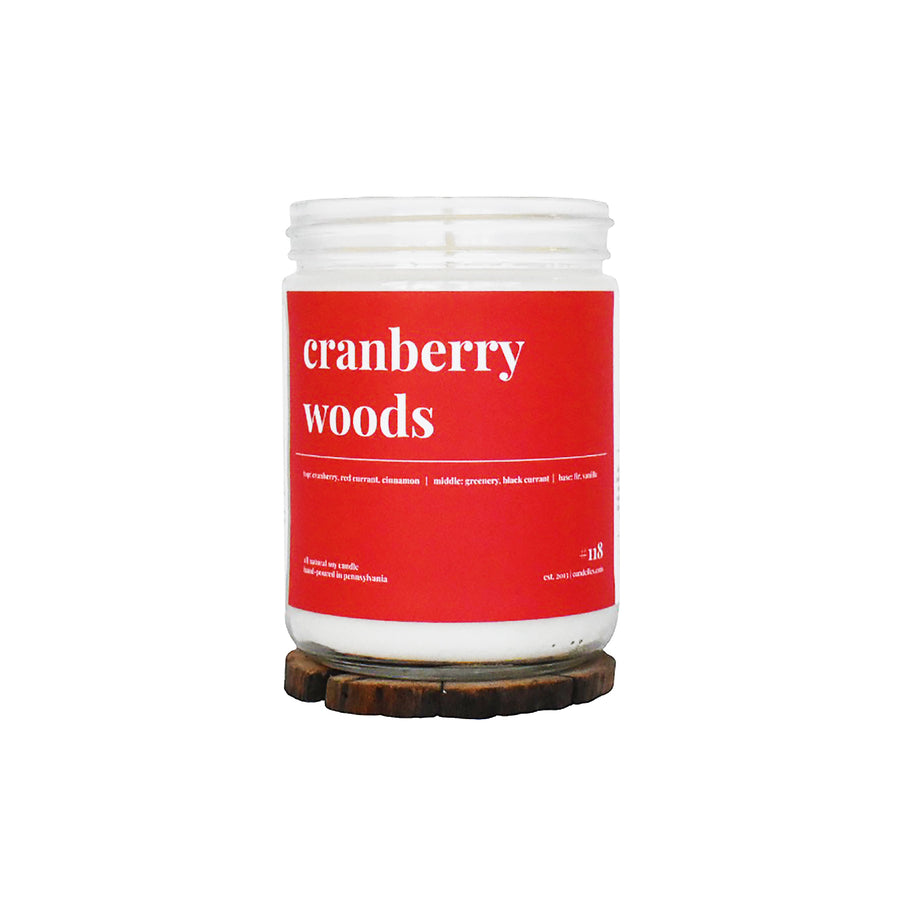 Cranberry Woods Soy Candle - Standard