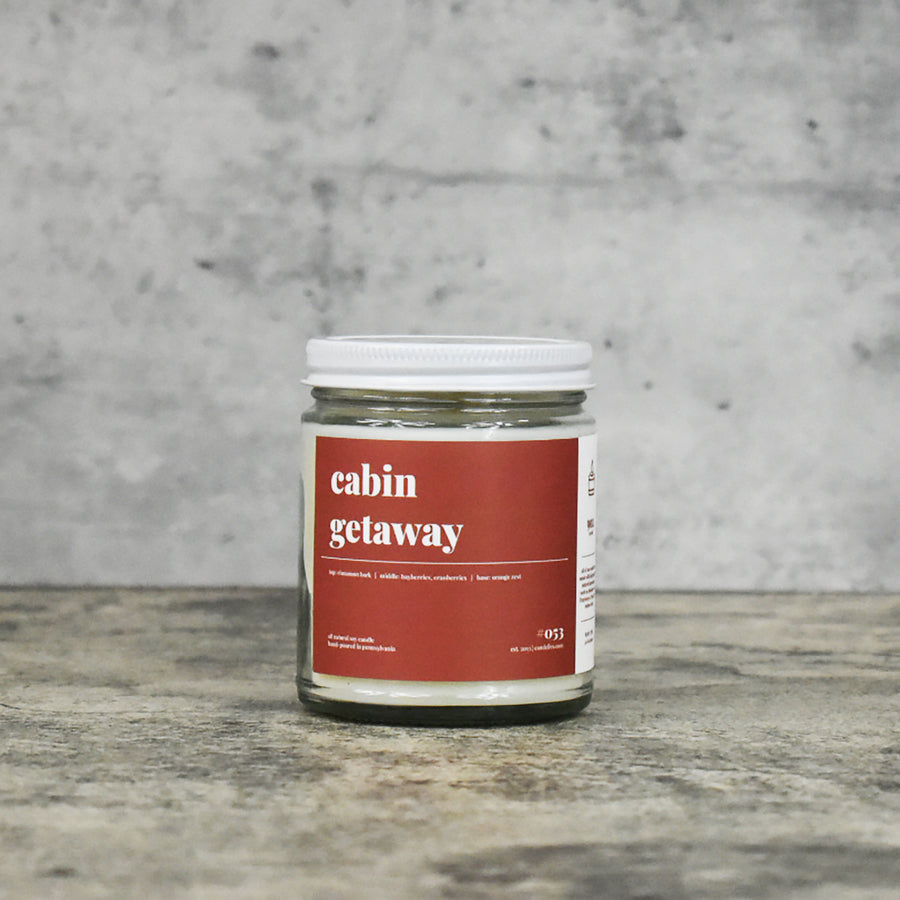 Cabin Getaway Soy Candle - Petite
