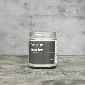 Favorite Sweater Soy Candle - Standard