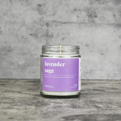 Lavender Sage 16oz. Soy Wax Candle