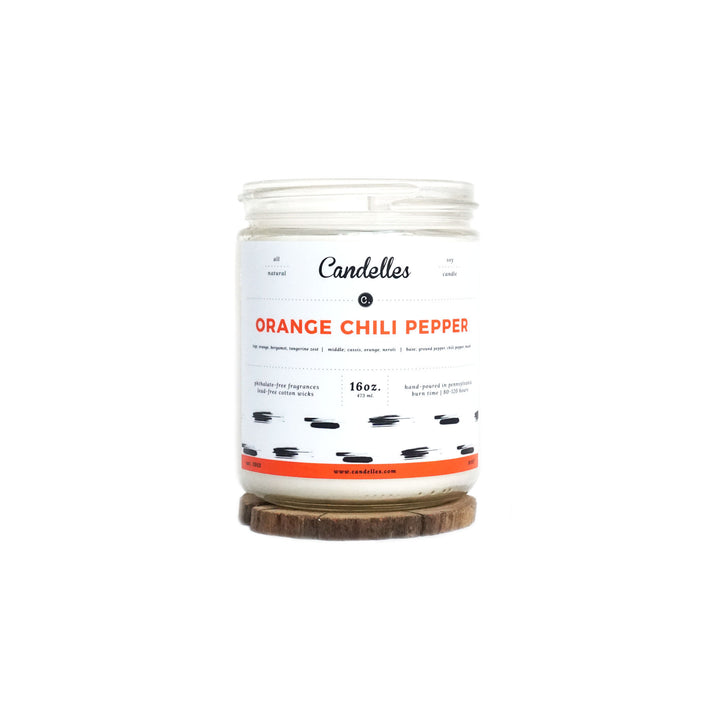 Orange Chili Pepper Soy Candle - Standard