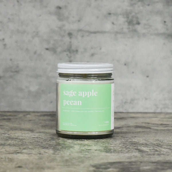 Sage and Apple Pecan 16oz. Soy Wax Candle