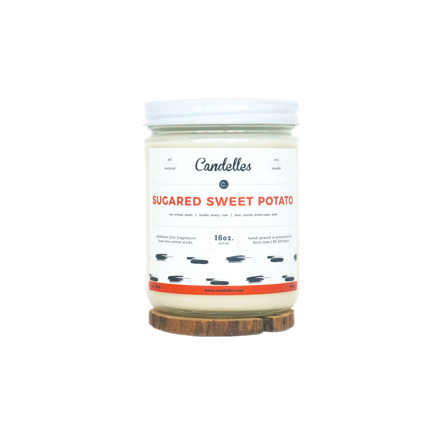 Sugared Sweet Potato Soy Candle - Standard
