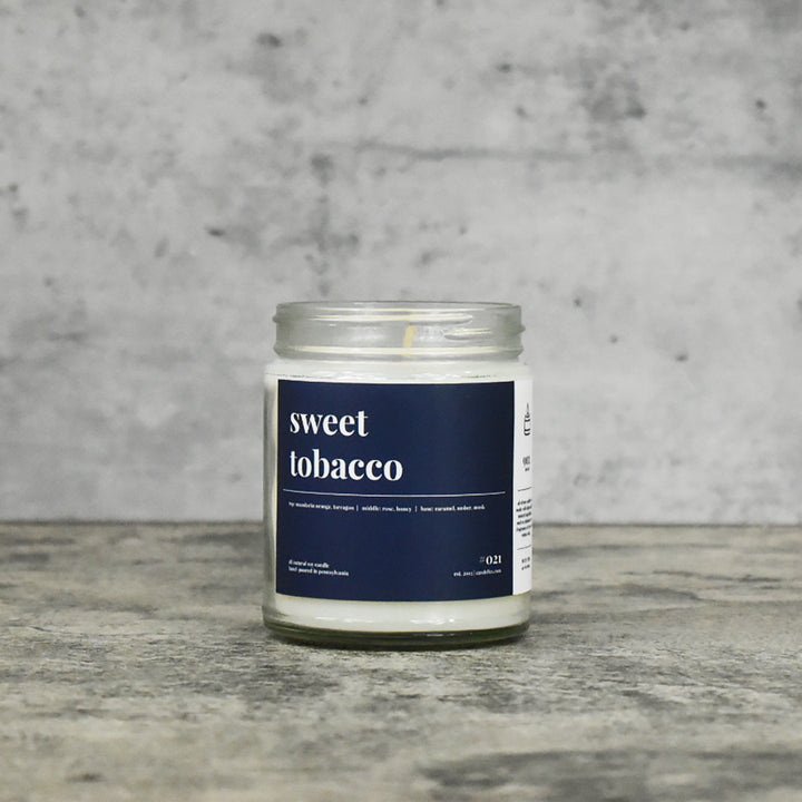 Sweet Tobacco Soy Candle - Petite