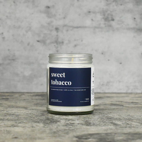 Sweet Tobacco 16oz. Soy Wax Candle