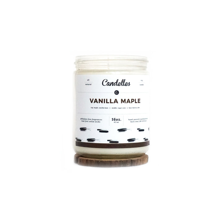 Vanilla Maple Soy Candle - Standard