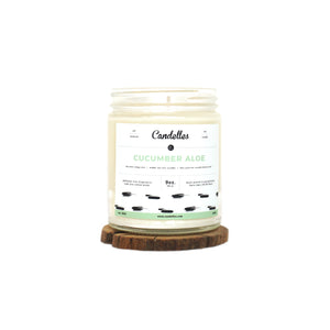 Cucumber Aloe Soy Candle - Petite