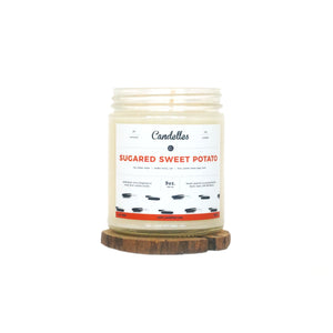 Sugared Sweet Potato Soy Candle - Petite