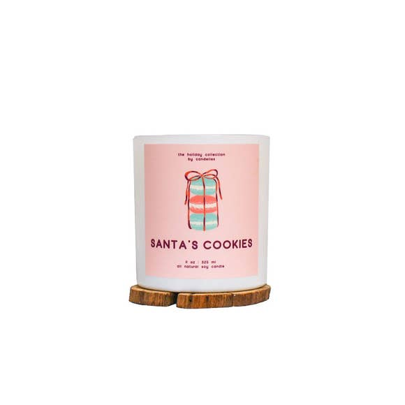 Santa's Cookies Soy Candle - Tumbler