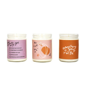 PREORDER - Just For Mama Gift Set (3 Candles)