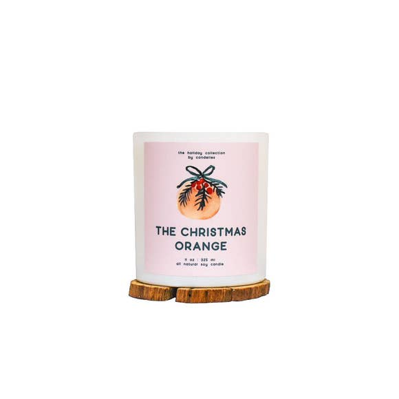 The Christmas Orange Soy Candle - Tumbler