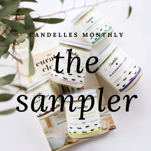 Candelles Monthly: The Sampler (Prepaid - 6 Months)