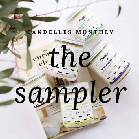 Candelles Monthly: The Sampler (Prepaid - 3 Months)