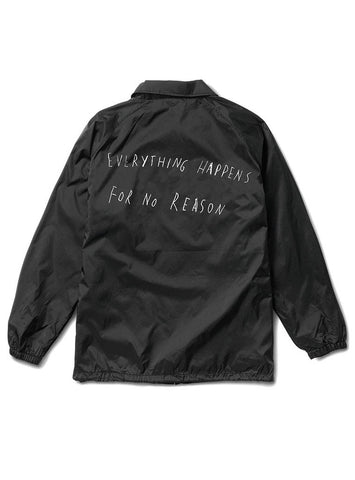 EVERYTHING HAPPENS FOR NO REASON COACHES JACKET - THESE AMERICANS