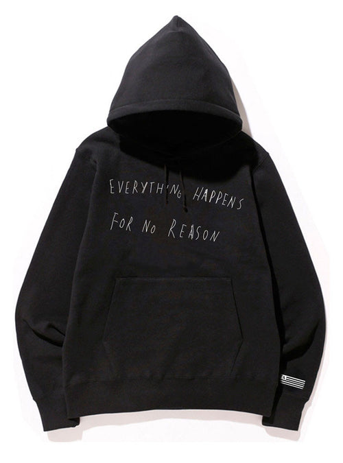 Everything Happens for No Reason | Unisex hoodie by These Americans
