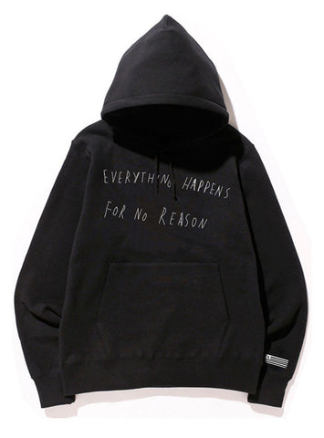 EVERYTHING HAPPENS FOR NO REASON HOODIE - THESE AMERICANS - 1