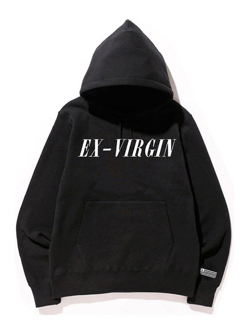 Ex-Virgin | Unisex hoodie sweatshirt by These Americans