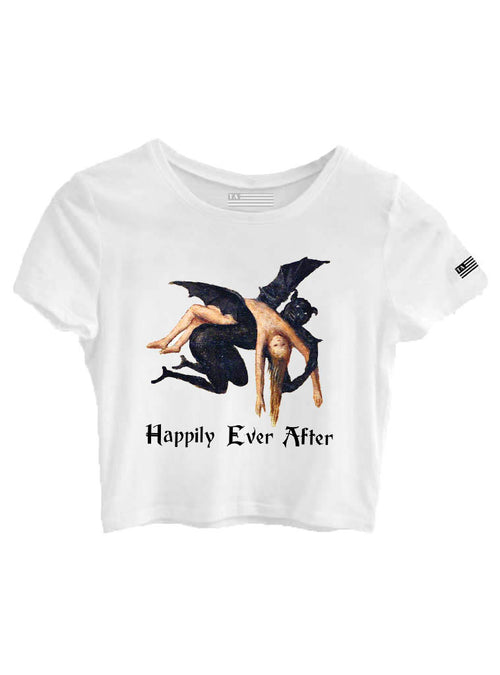 Happily Ever After - Girls Crop Top