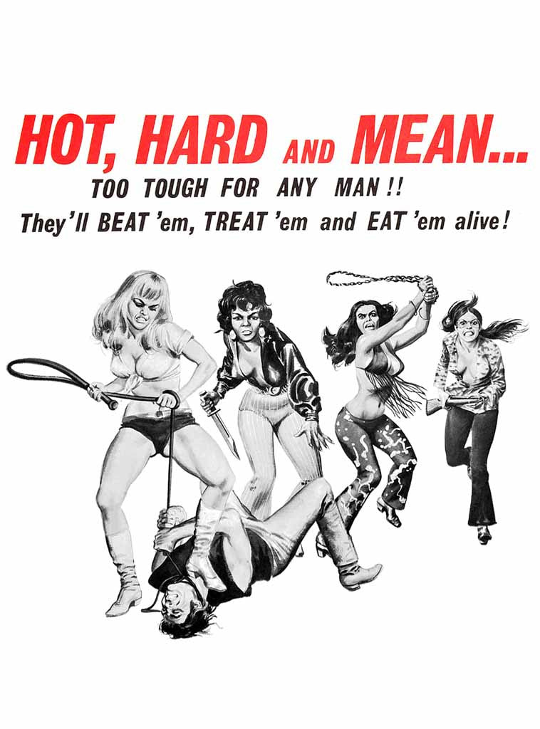 Hot, Hard & Mean | Unisex t-shirt by These Americans