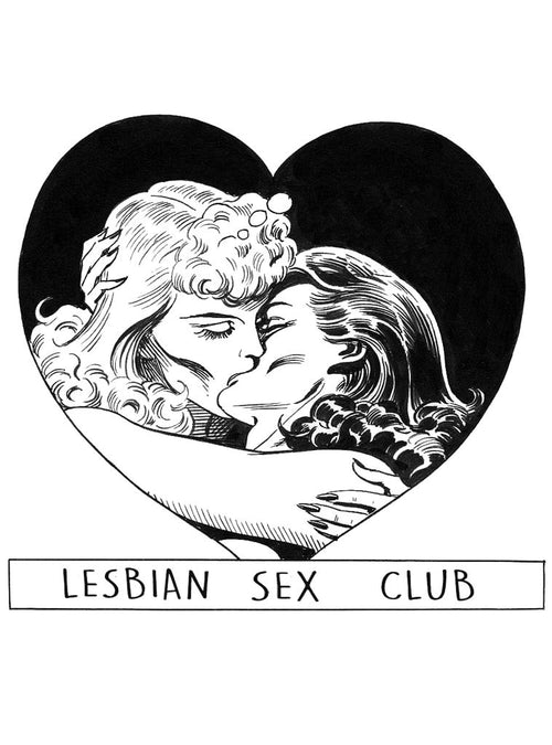 Lesbian Sex Club | Unisex t-shirt by These Americans