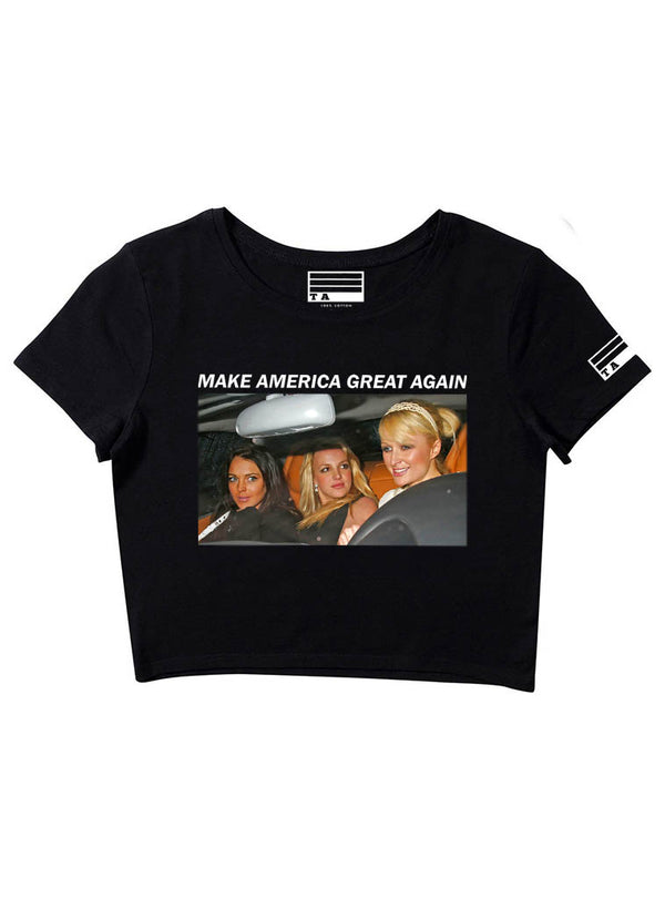 Make America Great Again - Girl's Crop