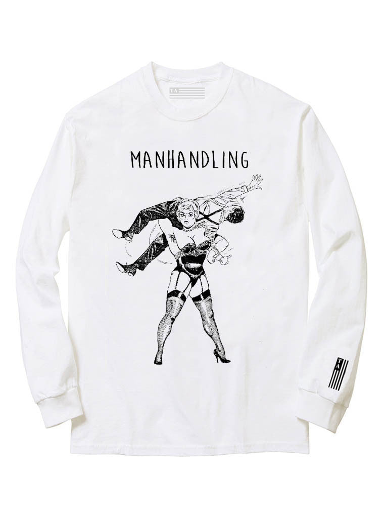 Manhandling | Unisex t-shirt by These Americans