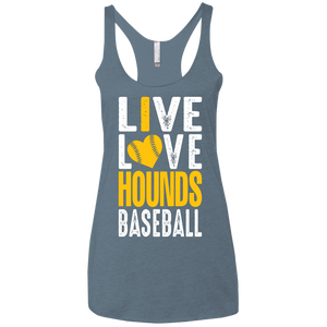 I love the Hounds Ladies' Triblend Racerback Tank