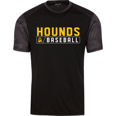 Hounds Bar Logo Youth CamoHex Colorblock T-Shirt