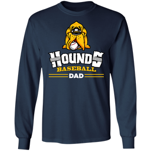 Hounds Dad Adult LS Ultra Cotton T-Shirt