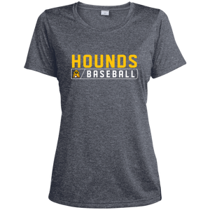 Hounds Bar Logo Women's  Heather Dri-Fit Moisture-Wicking T-Shirt