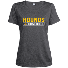 Load image into Gallery viewer, Hounds Bar Logo Women's  Heather Dri-Fit Moisture-Wicking T-Shirt