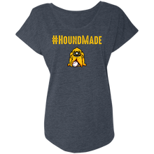 Load image into Gallery viewer, Houndmade Ladies' Triblend Dolman Sleeve