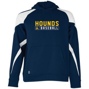 Hounds Bar Logo Youth Colorblock Hoodie