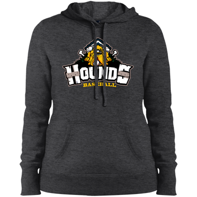Hounds Full Logo Ladies' Pullover Hooded Sweatshirt