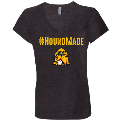 Houndmade Ladies' Jersey V-Neck T-Shirt