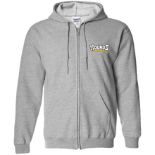 Load image into Gallery viewer, Hounds WM  Zip Up Hooded Sweatshirt