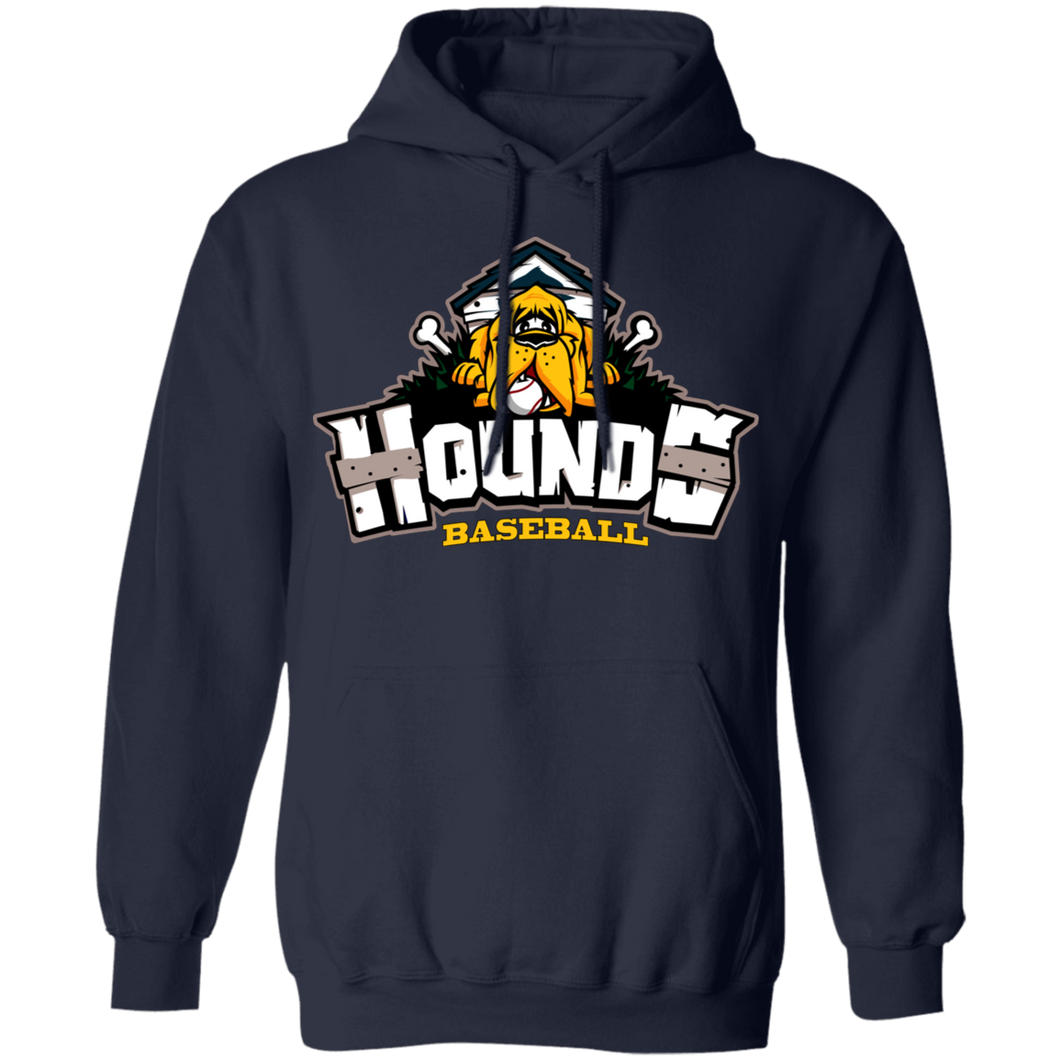 Hounds Full Logo  Pullover Lighweight Hoodie
