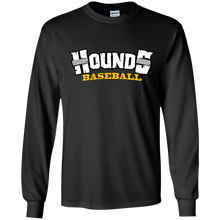 Load image into Gallery viewer, Hounds Baseball WM Youth LS T-Shirt