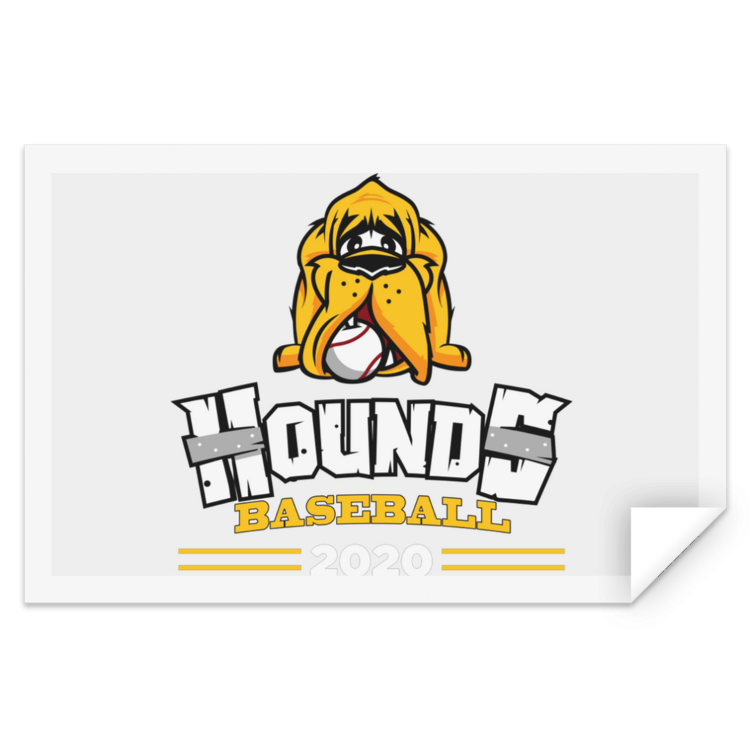 Hounds Baseball 2020 Sticker