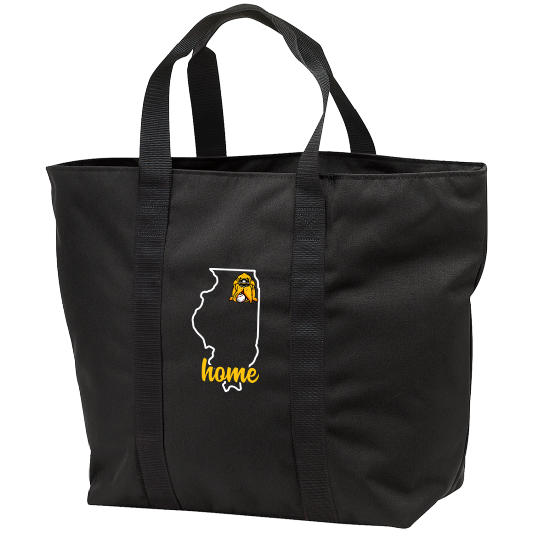 Hounds Illinois Home All Purpose Tote Bag