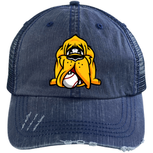 Load image into Gallery viewer, Hound Head Logo Embroidered Trucker Cap