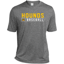 Load image into Gallery viewer, Hounds Bar Logo Men's Tall Heather Dri-Fit Moisture-Wicking T-Shirt