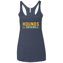 Load image into Gallery viewer, Hounds Bar Logo Ladies' Triblend Racerback Tank