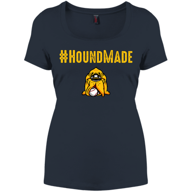 Houndmade Women's Perfect Scoop Neck Tee