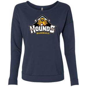 Hounds Full Logo Ladies' French Terry Scoop