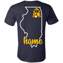 Load image into Gallery viewer, Hounds Baseball Illinois Home Ladies Tee