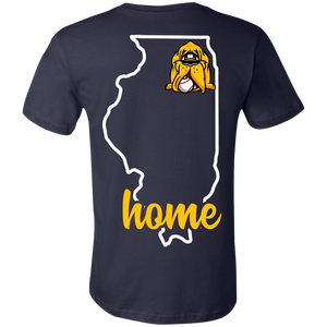 Hounds Baseball Illinois Home Ladies Tee
