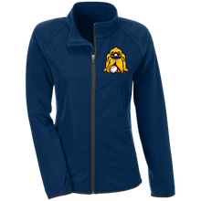 Load image into Gallery viewer, Hound Head Embroirdered Ladies' Microfleece with Front Polyester Overlay