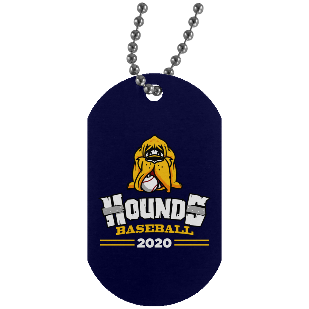 Hounds Baseball 2020 Dog Tag