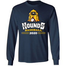 Load image into Gallery viewer, Hounds Baseball 2020 Cooperstown Special Adult  LS Tee